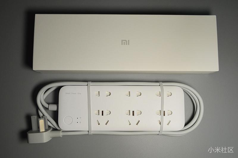 米家智能插线板,家庭用电智能管家